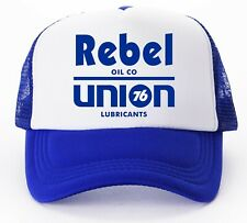 76 Lubricants Oil Rebel Union Trucker Cap
