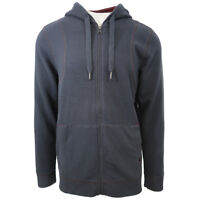 prAna Men's Dark Umber Barringer Full-Zip Hoodie  (Retail $90)
