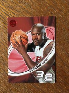 2004-05 E-XL SHAQ O'NEAL  RED Essential Credentials Future Card #42 Rare (874)