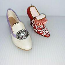 Just the Right Shoe Jeweled Heel Pump Shoe Chunk Heel Shoe Christmas Ornament