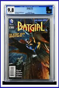 Batgirl #19 CGC Graded 9.8 DC June 2013 White Pages Comic Book