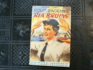 COVER CAR : POLITIEAGENTE RIA BRUINS KLUITMAN JEUGDSERIE  M88 NETTIE LENS