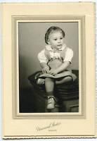 Antique Photo - Denver Colorado Little Girl-Hair Curls