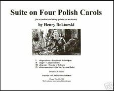 Printed Music & CD: 4 Polish Carols for Accordion and String Quintet