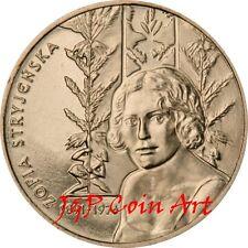 2011 Coin of Poland Polish 2zl  Zofia Stryjenska