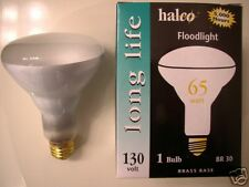 12-lot Halco 65W Br30 Long Life Indoor Flood Light Bulb