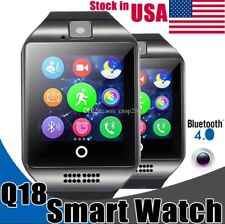 Q18 Water Resistance Bluetooth Universal GSM,TF Smart Watch For iPhone Android