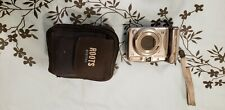 canon powershot A720 IS digital camera 6x zoom + 4gb SD card & carry case
