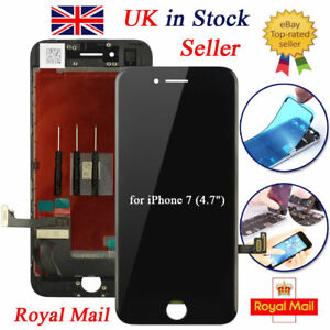 """Black Screen For iPhone 7 4.7"""" LCD Replacement Touch Display Assembly Digitizer"""