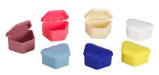 DENTURE BOXES, ASSORTED COLORS  200 boxes(bx1050)