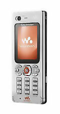 Sony Ericsson Walkman W880i Handy- Steel Silver unlocked NEUWAREoriginalverpackt
