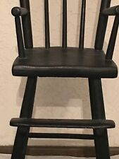 Awesome Antique 1800's Child's Windsor High Chair-Must See!