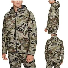 NWT $160 UNDER ARMOUR Brow Tine Men's Hunting Jacket Barren Camo SELECT SIZE