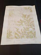Rare Lewiston Minnesota Geological Survey Map Original Excellent Condition 1954