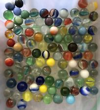 Lot of 100 Marbles Vintage Old from Estate Lot 2
