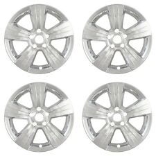 "CHROME 17"" Wheel Skins Hubcaps (Set of 4) for Jeep Patriot Compass Dodge Caliber"