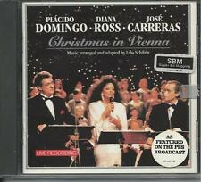 "CD ""Christmas in Vienna"" Placido Domingo-Diana Ross-Jose Carreras - SHIPS FREE!"