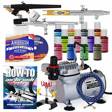 Cake Decorating Airbrush Kit - 12 Color Set