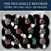 PICCADILLY RECORDS STORY 1961-1962 - 100 TRACKS - VARIOUS (NEW SEALED 4CD)