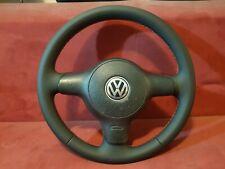 VW Polo 6N2 Lupo GTI  Leder Lenkrad Neu Bezogen mit Roter Naht