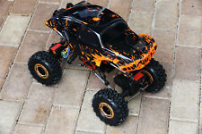 Custom Buggy Body Muddy Orange for Redcat Rockslide / Everest 1/10 Crawler