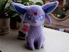 "New 7"" Pokemon Espeon Eevee  soft plush doll toy Figure Collectible Tomy Pokeman"