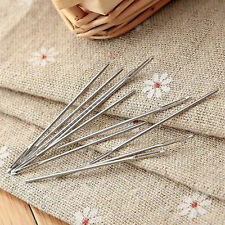 10pcs 5cm Large Eye Embroidery Tapestry Darning Needle Sewing Bees Craft Tools