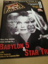 TV Zone Issue 90 - Mary Kay Adams Babylon 5 / Star Trek Cover - May 1997