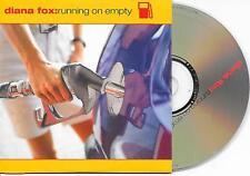 DIANA FOX - Running on empty CD SINGLE 2TR Eurodance DUTCH CARDSLEEVE 2000 RARE!