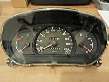 hyundai accent 2000 2001 2002 Dash Instrument Cluster Gauges Speedometer KM/H