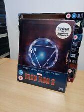 Iron Man 3 BLU RAY STEELBOOK UK Release NEW & SEALED