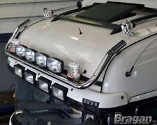 Per adattarsi 09+ SCANIA P G R 6 Highline Tetto Barra luminosa + macchie Jumbo + Beacon chiaro