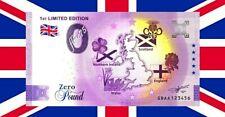 Billet 0 euro Pound £ Souvenir Schein 1ST LIMITED EDITION 2021 GBAA Royaume Uni