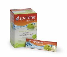 Spatone Liquid Iron Supplement with added Vitamin C - Apple Flavour - Pack of 28