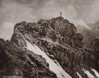 Östlicher Zugspitzgipfel, 19. Jahrhundert, Fotografie