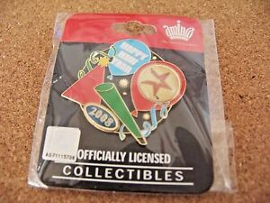2008 Houston Astros Party New Year's lapel pin
