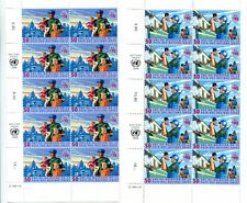 United Nations Geneva Scott #325-326 Peacekeeping Forces Block of 10 MNH.