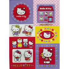 13 pc Hello Kitty Fridge Cabinet Magnetic Figures & Picture Frames NEW