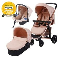 My Babiie Billie Faiers MB200+ Rose Gold and Blush Travel System AVAILABLE NOW
