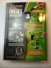 STRATITEC  EIR595 COLOR PRINTER INKJET REFILL KIT NEW SEALED