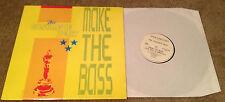 "Concrete Beat Make The Bass 12"" import Belgium Target Records 10058"
