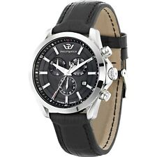 Orologio Philip Watch Blaze R8271665004 uomo cronografo watch pelle nera nuovo
