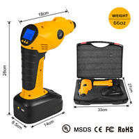 Cordless Tire Inflator Portable Air Compressor,Built-in Power Bank 150PSI,55L/M