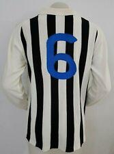 MAGLIA CALCIO SHIRT ASCOLI JUVE SIENA MATCH NR.6 ANNI 70' FOOTBALL ITALY I114
