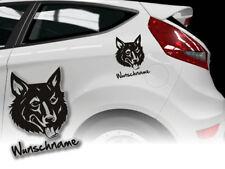 Aufkleber Mudi ungarischer Hütehund H296 Hundeaufkleber Wunschname Auto