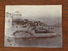 Photographie ancienne 1905 Marseille  Corniche Roubion au Roucas