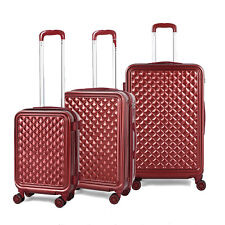 3PCS ABS Luggage Hardside Spinner Lightweight Durable Spinner Suitcase 20'24'28'