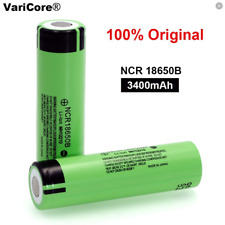 VariCore NCR18650B battery 3400 mah 3.7 v 18650 lithium rechargeable