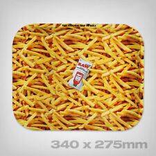 RAW French Fries Rolling Tray, Size L
