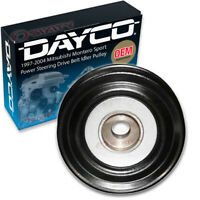 Dayco Power Steering Drive Belt Idler Pulley for 1997-2004 Mitsubishi iw